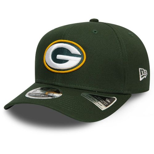 NEW ERA MENS 9FIFTY BASEBALL CAP.GREEN BAY PACKERS STRETCH SNAPBACK HAT S20 70